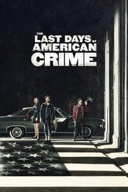 The Last Days of American Crime 2020 123movies